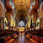 Worcester Cathedral Quire by Dave Godden