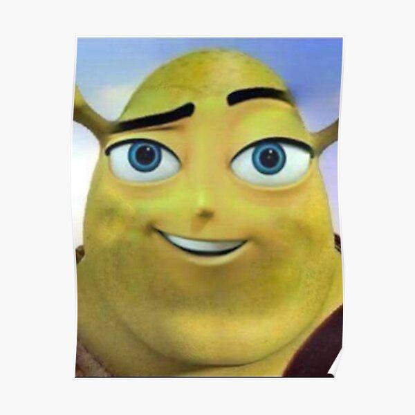 Bee Shrek Meme Poster