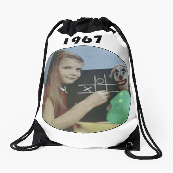 1967 BBC Test Pattern Girl Mochila saco