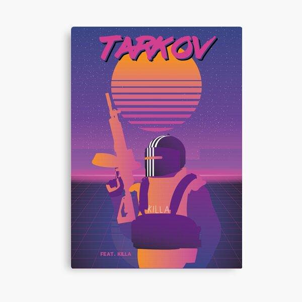 Killa - SynthWave Edition - Escape From Tarkov Canvas Print