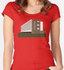 bauhaus Women's Fitted Scoop T-Shirt