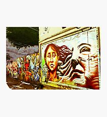 Graffiti Wall Photographic Print