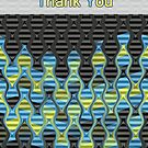 Vibrations - Thank you Card by 1001cards