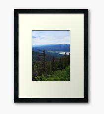 Swan Lake (Montana, USA) Framed Print
