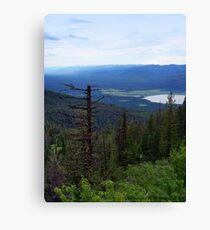 Swan Lake (Montana, USA) Canvas Print