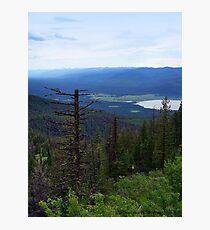 Swan Lake (Montana, USA) Photographic Print