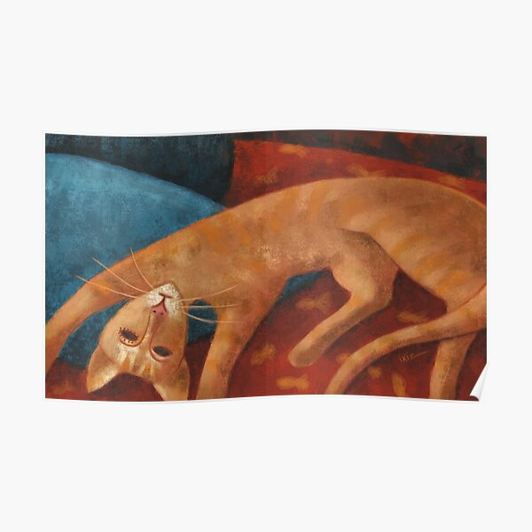 Modigliani chat Poster