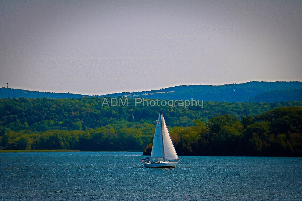 Out Sailing by Amber D Hathaway Photography