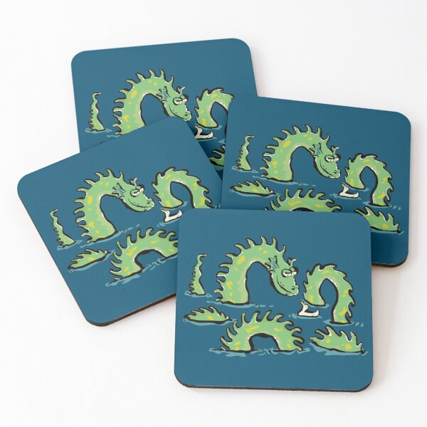 Sea serpent Coasters (Set of 4)