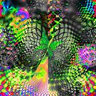 Psychedelic Fantasy Butterfly 1 by Lynda K Cole-Smith