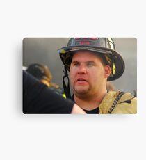 Fireman Metal Print