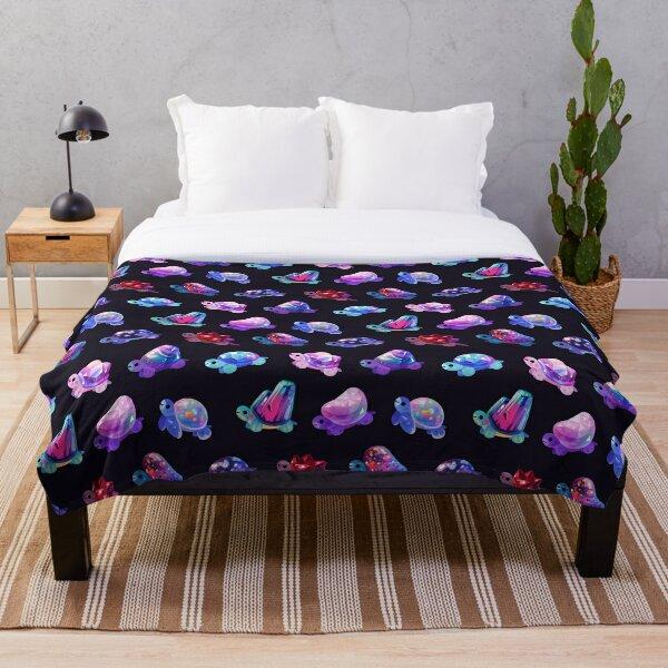 Jewel turtle Throw Blanket
