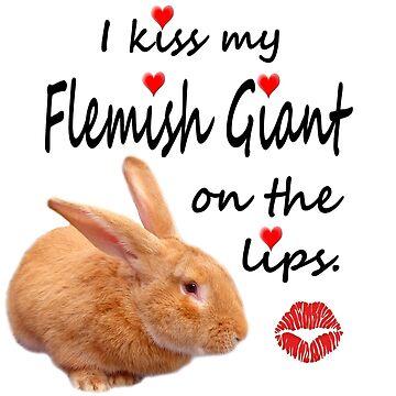 Kiss My Flemish - fawn by TwoPinesFarm