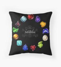 A Life of Adventure Throw Pillow