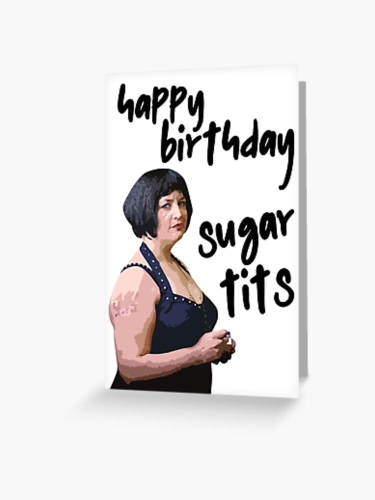 Birthday tits