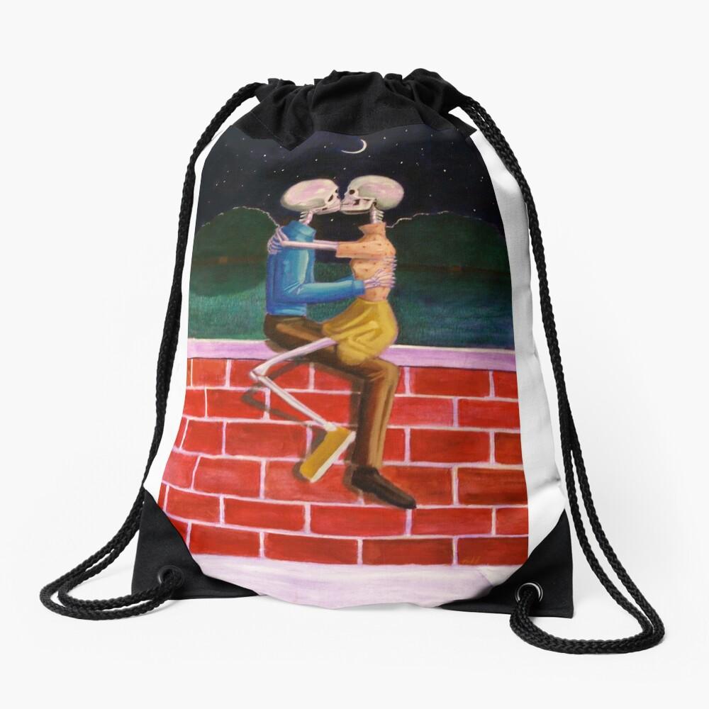 Eternal Kiss Drawstring Bag