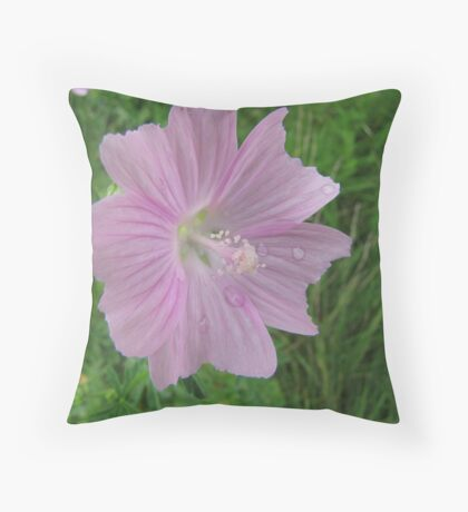Just a touch of pink Throw Pillow