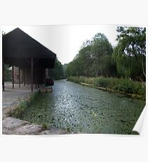 Cromford Canal Poster