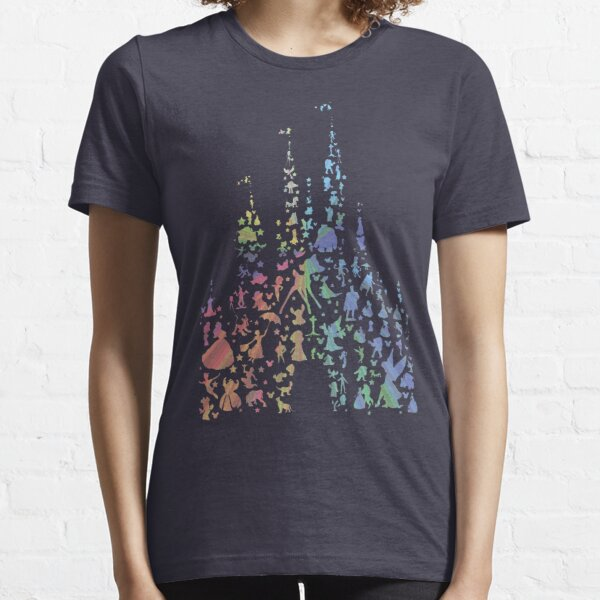 Happiest Castle On Earth ( Rainbow Explosion ) Essential T-Shirt