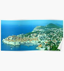 Dubrovnik - The Old Town Poster