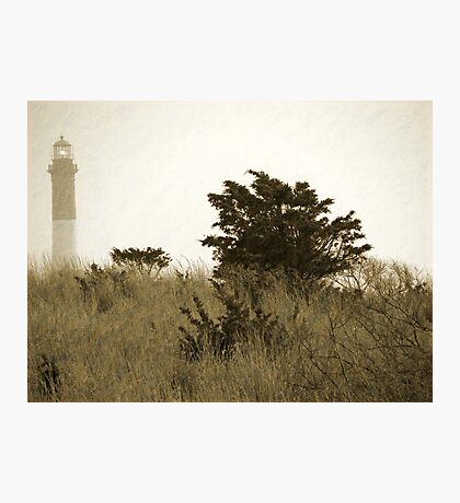 FINS Lighthouse Long Island  Photographic Print