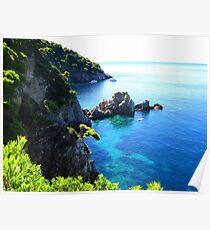 Elaphite Islands - Dubrovnik Poster