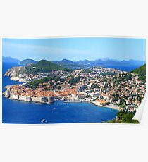 The Old Town - Dubrovnik Poster