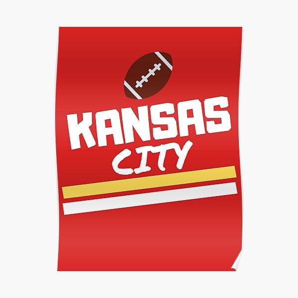 Super Kc Fan KC Kansas City 2020 red Poster