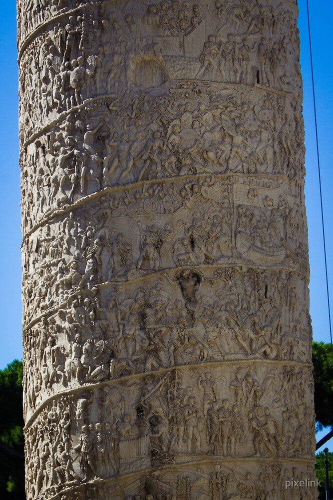 Trajan's Column by pixelink