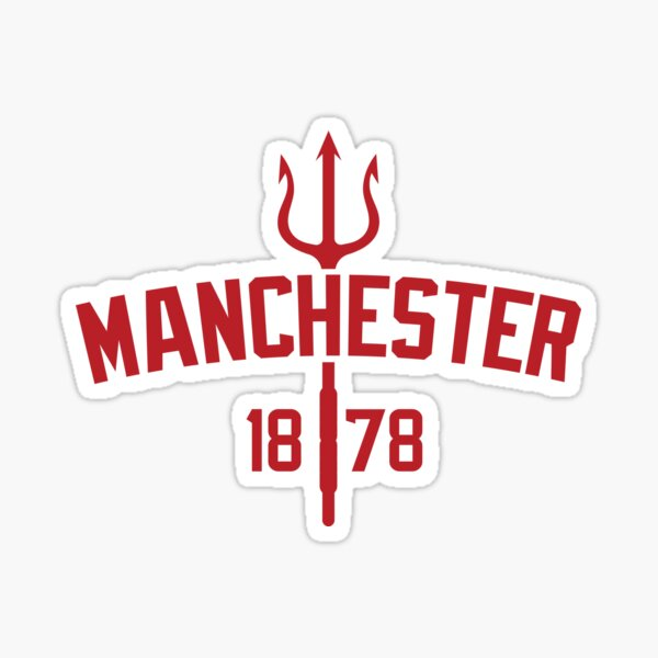 Devils of Manchester, Manchester is red, Glory Glory United Sticker