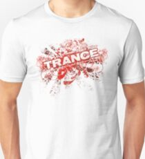 Trance – Electronic Dance Music - Red T-Shirt