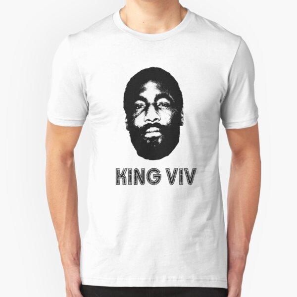 "Viv Richards ""King Viv"" Retro 1970's 80's Style West Indian Cricketer Slim Fit T-Shirt"