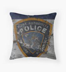 Port Authority Throw Pillow