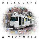 Melbourne Street View by kaligraf