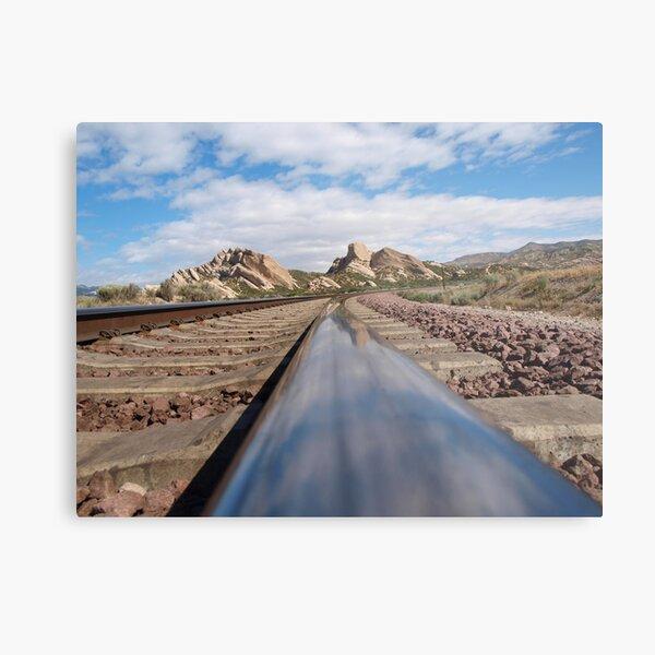 Main Line, Cajon Pass Metal Print