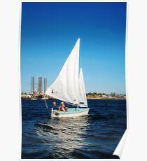 Lynn Sailing #2 Poster