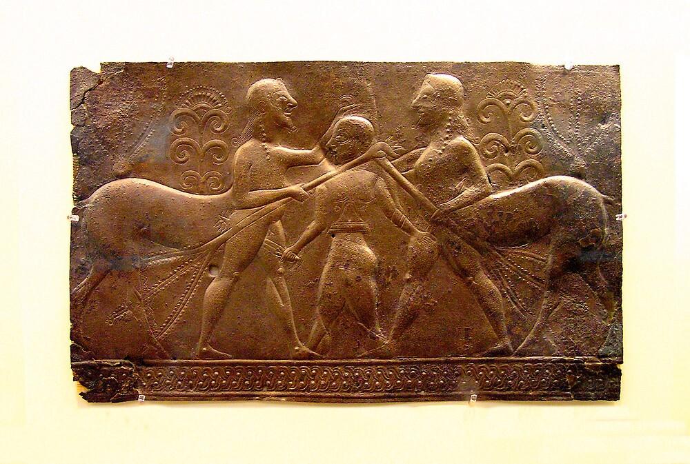 5th Century Bronze Cladding by Christopher Biggs
