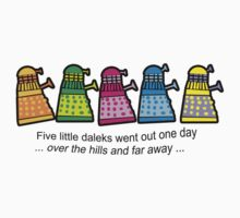 Five little daleks