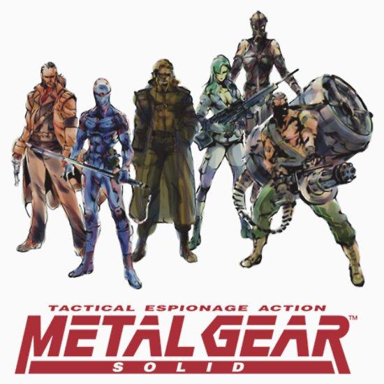 TShirtGifter presents: Metal Gear Solid