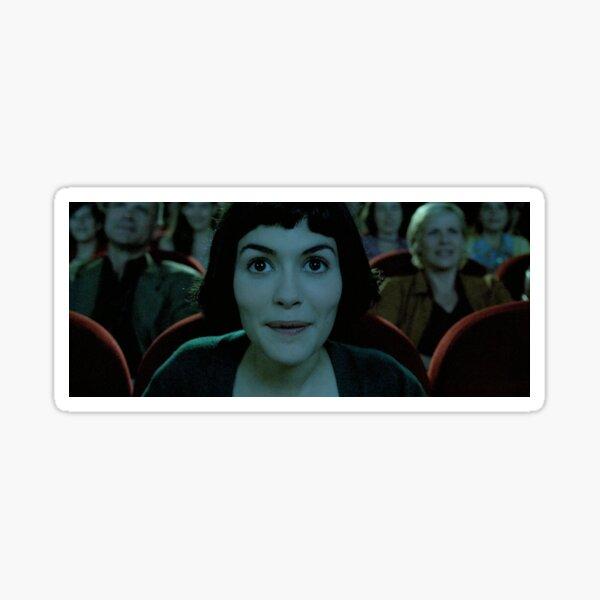 capturas de pantalla de amélie Pegatina