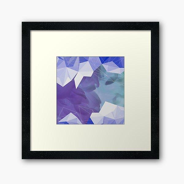 Abstract cute design Framed Art Print