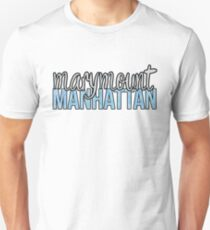 Marymount Manhattan Two-Tone Unisex T-Shirt
