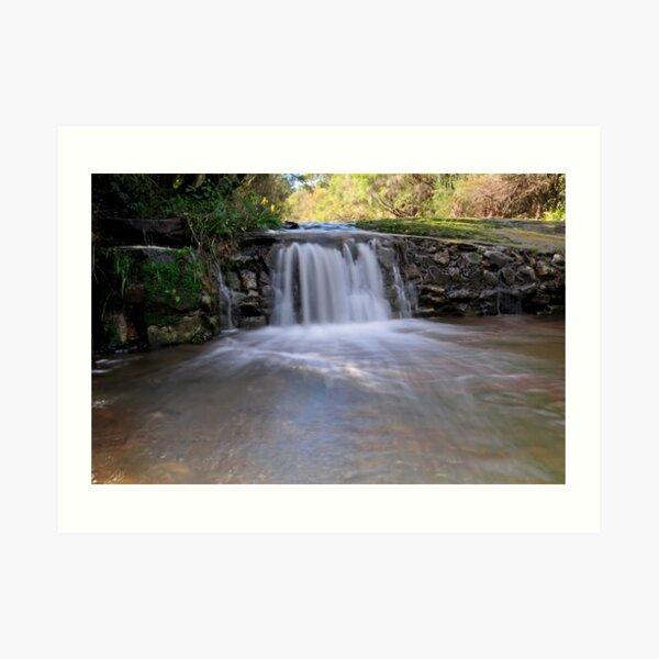 Somersby Upper Falls #2 Art Print