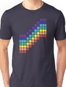 Rainbow Staircase Unisex T-Shirt