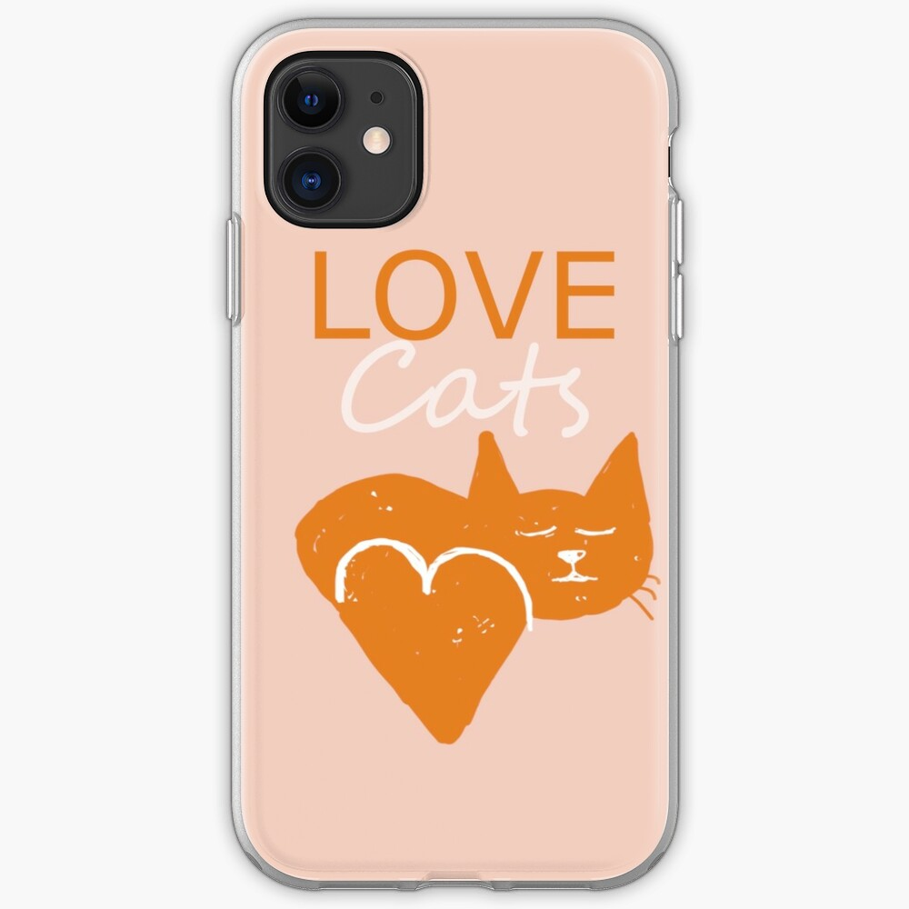 Love cats iPhone Case & Cover