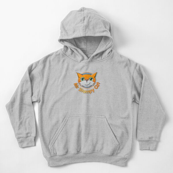 Mr Stampy cat chanel Kids Pullover Hoodie