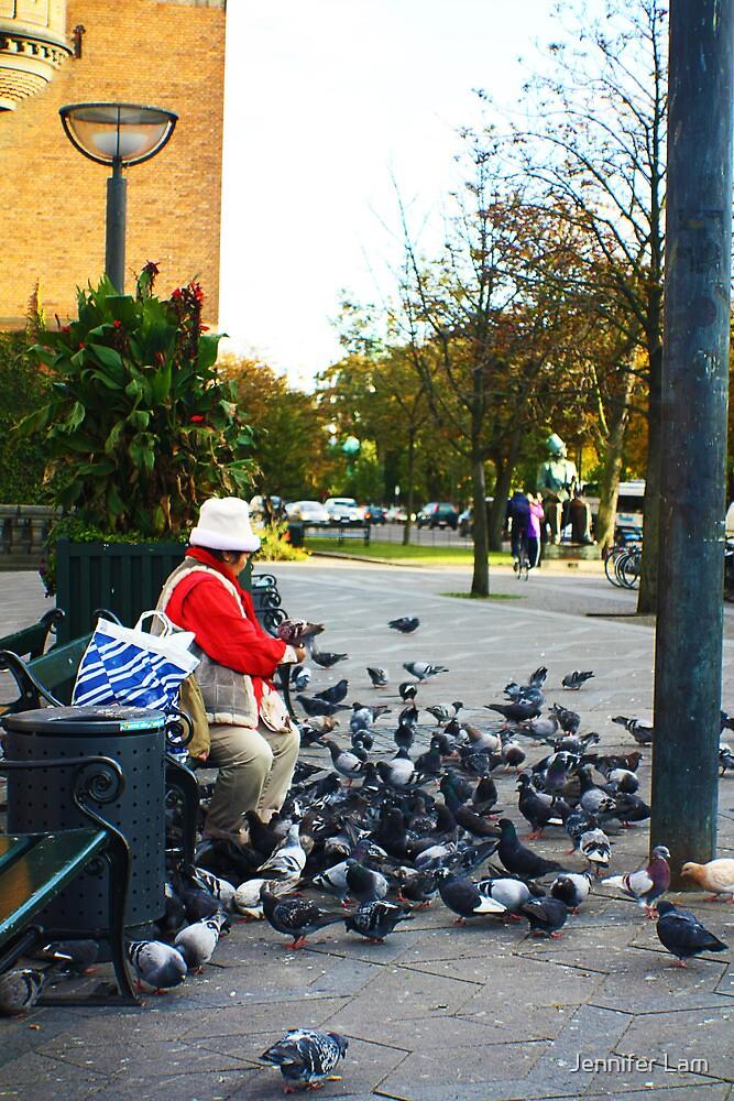 Here birdie, birdie by Jennifer Lam