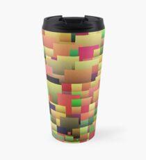 Decorative geometric shapes,abstract design Travel Mug