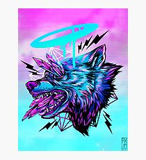 Crystal Wolf  Photographic Print