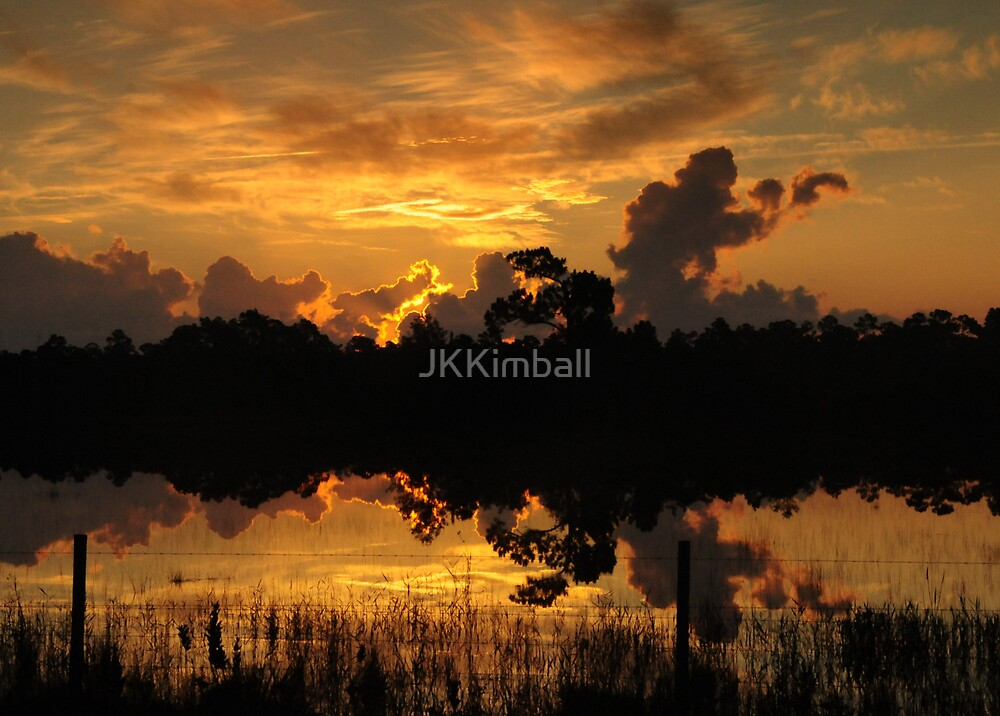 Summer Sunrise in Hungry Land by JKKimball